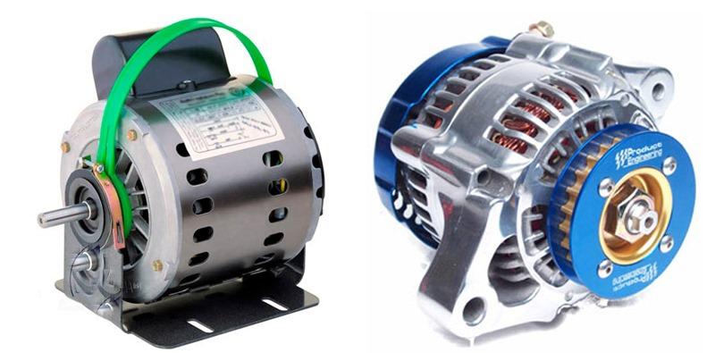 موتورهای الکتریکی در کولر آبی